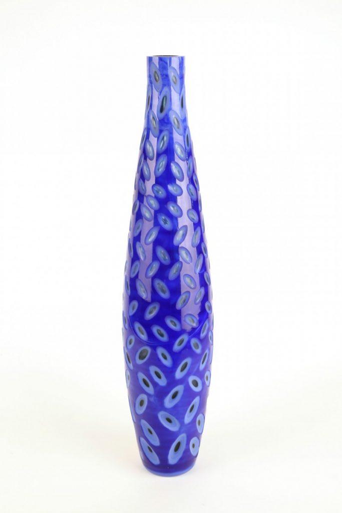 Modern Cobalt Blue Vase