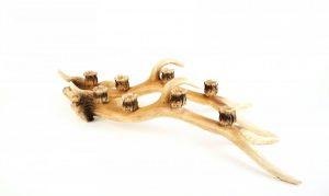 Faux Antler Candlesticks (2)