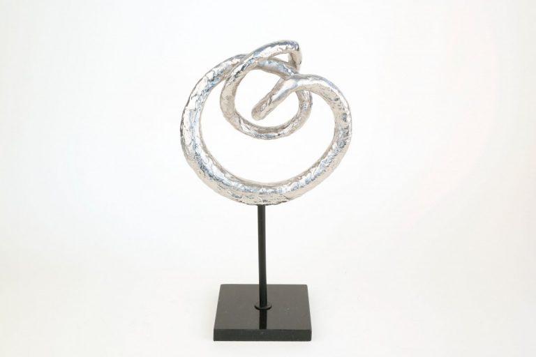 Metal Circle Sculpture