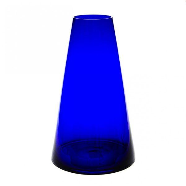 Cobalt Blue Glass Vase