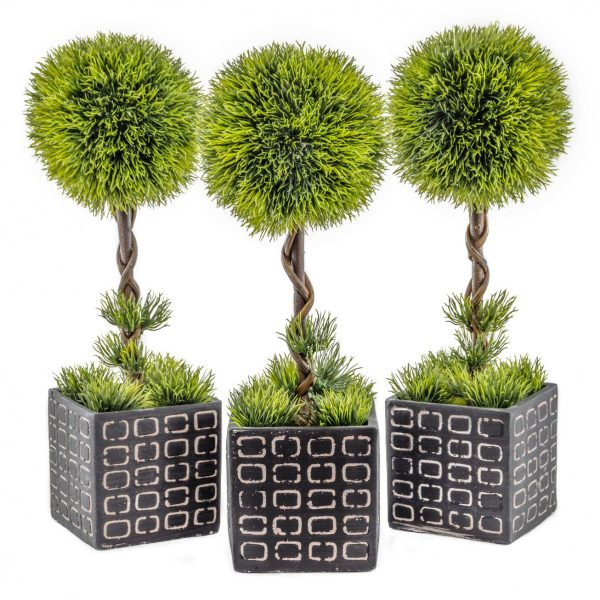 Contemporary Green Topiary (3)