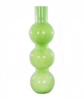Modern Lime Green Glass Vase